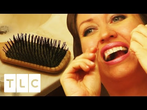 Woman Uses Her Hair As Dental Floss To Save Money! | Extreme Cheapskates