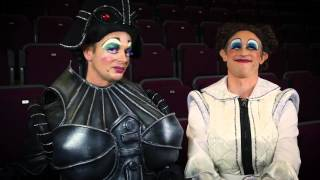 2015 - Cinderella - Barnstaple - Meet the Cast - Ian Hallard & Matthew Baldwin as Ugly Sisters