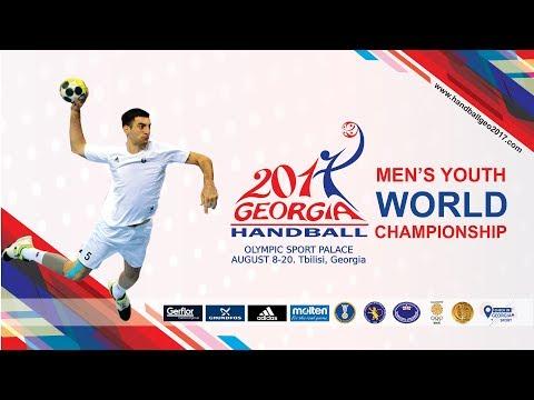 Slovenia - Tunisia (Group D). IHF Men's Youth World Championship Sloveni