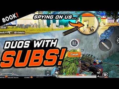 SURPRISE! DUOS With SUBS - Going For The CHICKEN DINNER! PUBG Mobile