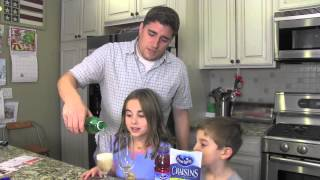New Year's Eve Drink For Kids With Ocean Spray