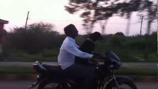 Dog Travelling On a Bike In India [Chennai]