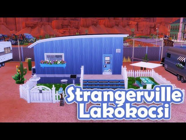 Lakókocsi - The Sims 4 Strangerville