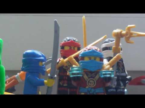 Lego ninjago epizod 1 lloyd dostaje moc o której mu się nie śniło#1