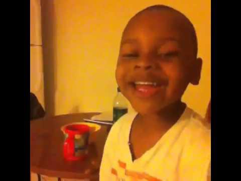 Hey Instagram, It My Birthday!!! Lil Prinz the morning of his 3rd Birthday