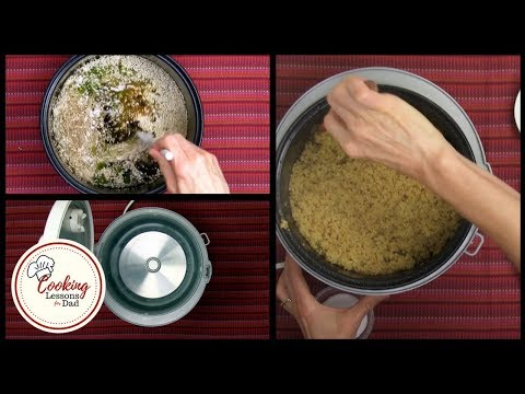 Rice Cooker Curried Quinoa: How to Make Curried Quinoa in Your Rice Cooker!