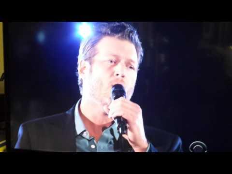 Blake Shelton on Peoples Choice Awards