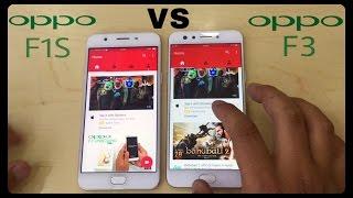 OPPO F3 VS OPPO F1S - Speed Test & Look