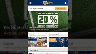 Bet3000 App - Download Infos für Android + iPhone