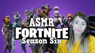 ASMR Fortnite Gameplay - Reaction to Season 6 New Battlepass Items, Skins (FULL WHISPERS)