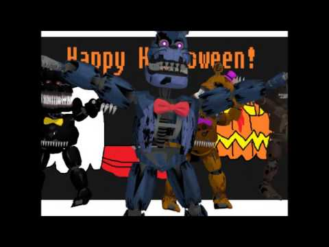 (Halloween) MMD FNaF 4 Nightmares - Trick and Treat