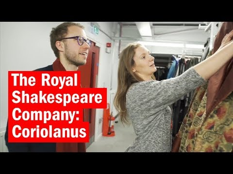 Behind the scenes with the Royal Shakespeare Company: Coriolanus | Time Out London