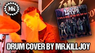 LORDI - I Dug a Hole in the Yard for you - Drum Cover by Mr.Killjoy