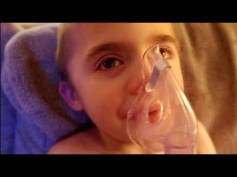 Toddler gets sick again || Breathing treatment || #momlife #sahm #sickkid