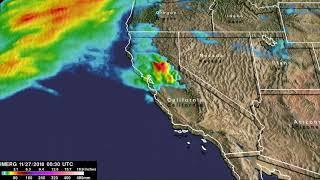 IMERG Data for Rainfall Over California