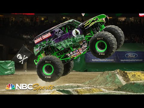 Monster Jam 2019: Miami, FL | EXTENDED HIGHLIGHTS | Motorsports On NBC