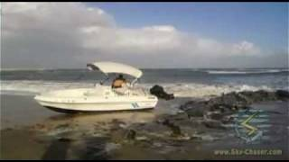 Small Boat Gets Beached In High Surf (November 2011)