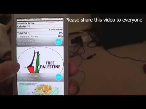 "Boycott Israel Using The ""BUYCOTT"" App    MUST SHARE"