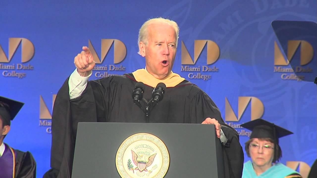 Joe Biden Commencement Address - Miami Dade College - YouTube