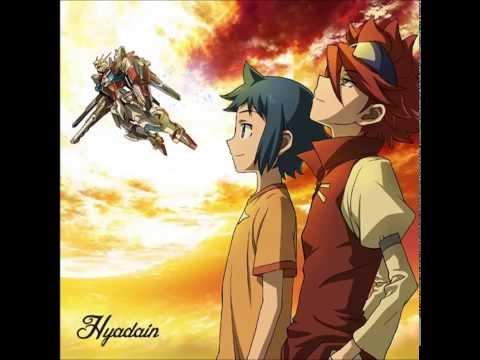 gundam build fighter ed 2 ending 2 hyadain