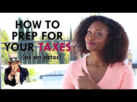 How to Prep For Your Taxes as an Actor   Workshop Guru