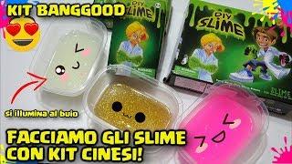 NUOVI KIT SLIME CINESI da BANGGOOD! Approvati? Come Usare i kit slime da Banggood! By FrancyDreams