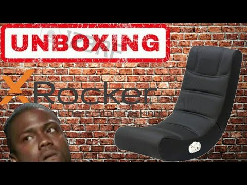 Unboxing X Rocker Foldable Sound Gaming Chair Youtube