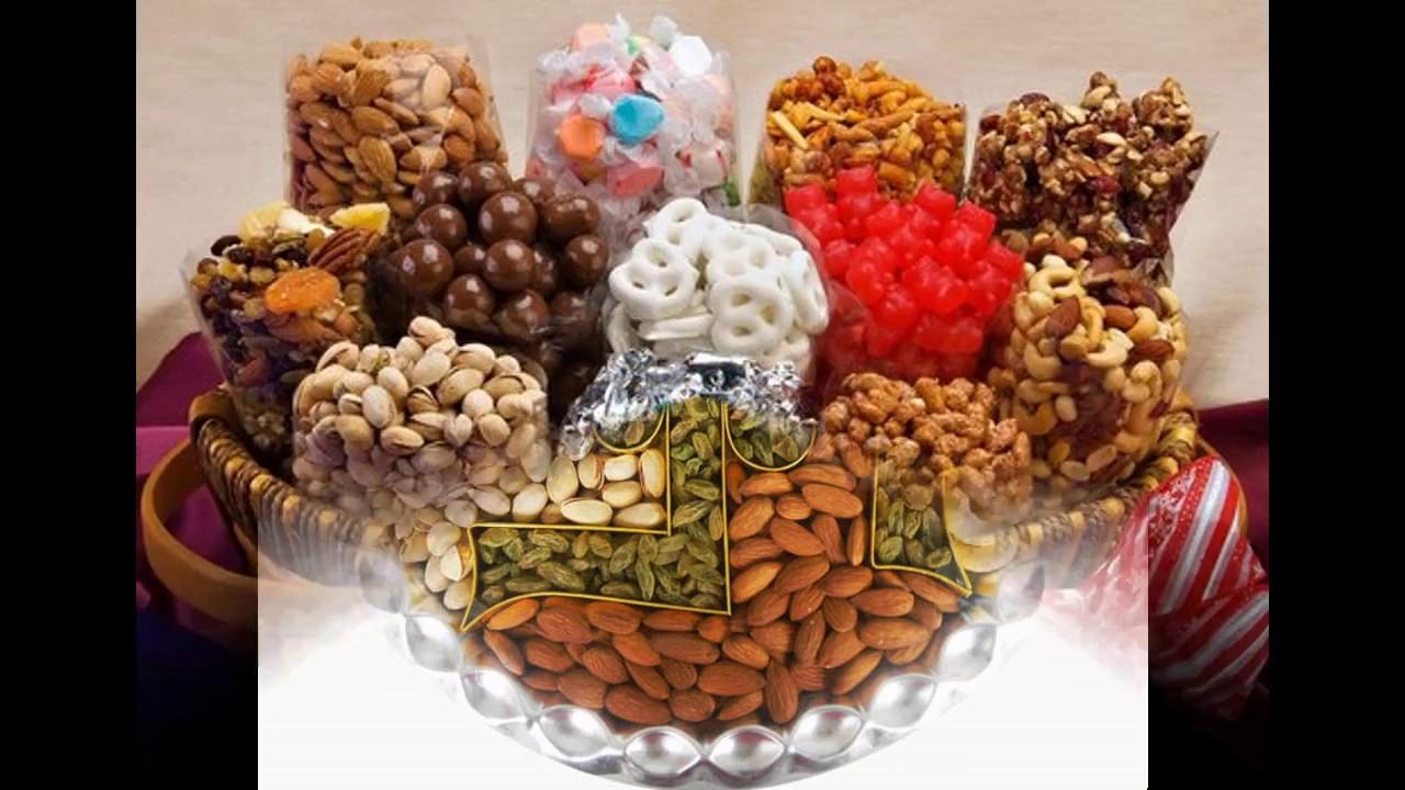 Dry fruit basket decoration - YouTube