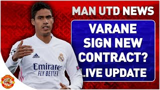 Varane New Madrid Contract? Ben White Link & Sancho Trippier Update | Man Utd Transfer News