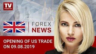InstaForex tv news: 09.08.2019: Forex market fluttering amid political turmoil in Italy (USDX, USD, EUR, CAD)