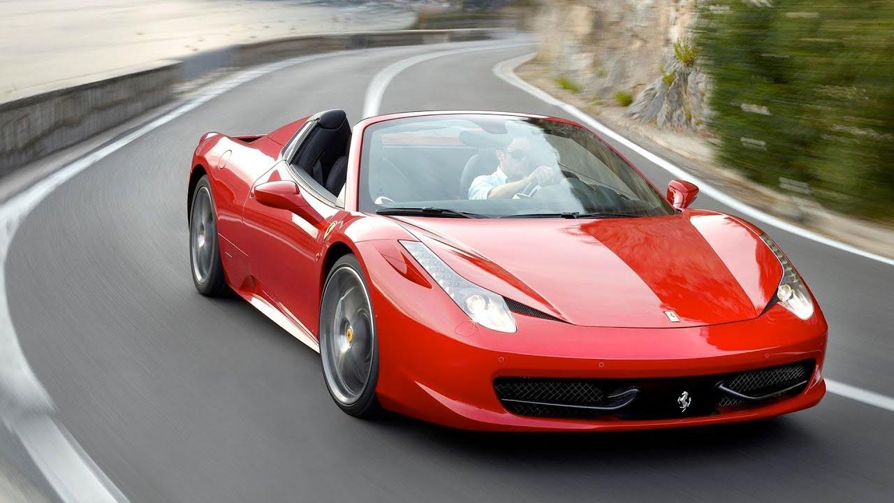 458 Spider Ferrari Maranello Ad Youtube