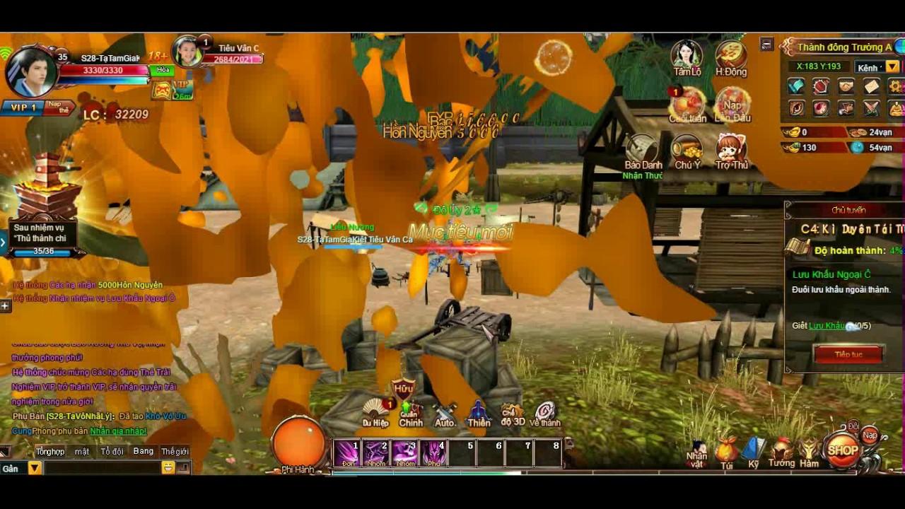 Vân Trung Ca Web Game 3D 360 độ - VTC Game - GameTester