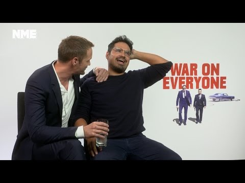 Alexander Skarsgård and Michael Peña talk War On Everyone