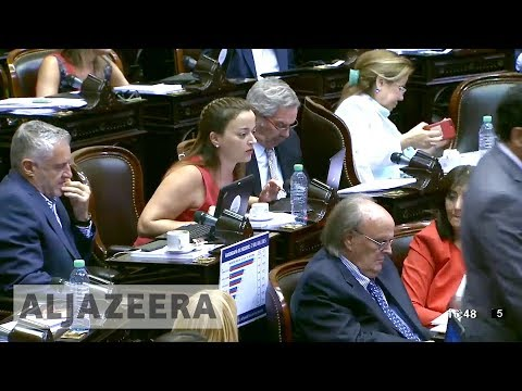 Argentina's congress passes pension reform despite protests
