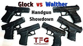 Glock vs Walther (Handgun Showdown) - TheFireArmGuy