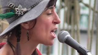 Alexa Allen Busking Brixham 28th September 2016