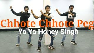 Chhote Chhote Peg - Yo Yo Honey Singh | Dance Choreography | Neha Kakkar | DXBnce Studio