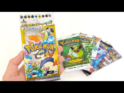 Download Youtube: $100 Vintage Pokemon Booster Pack Opening!