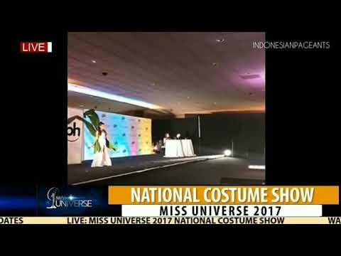 """Malaysia """"Nasi Lemak""""   National Costume Show Miss Universe 2017"""