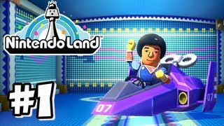 Nintendo Land Wii U - Part 1 - Captain Falcon