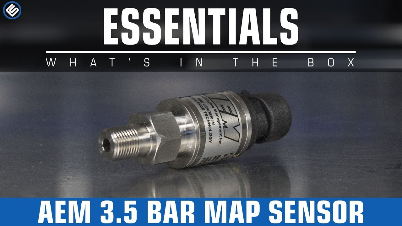 hight resolution of aem 3 5 bar map sensor