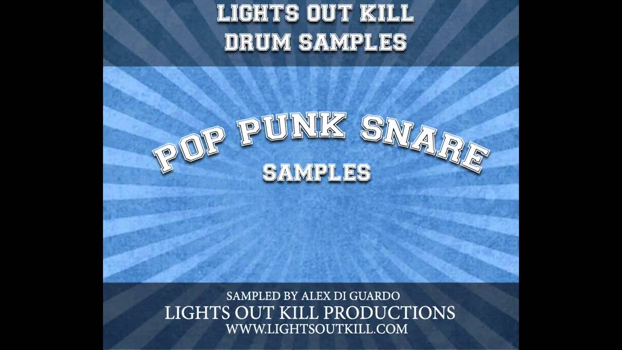 pop punk snare drum samples by lights out kill productions youtube. Black Bedroom Furniture Sets. Home Design Ideas