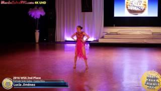 WSS16 Professional Female Solo Salsa 2nd Place Lucía Jiménez