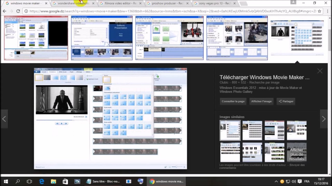 movie maker 2012 clubic