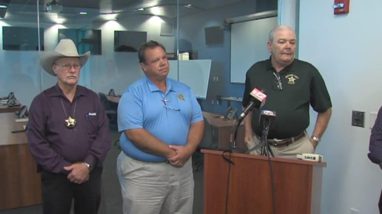 Okeechobee County Sheriff Paul May discusses deputy-involved shooting