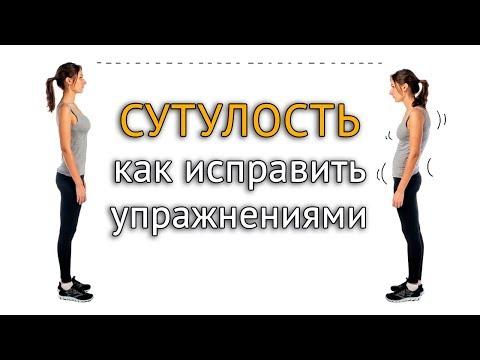 Специальные упражнения для спины от сутулости в домашних условиях