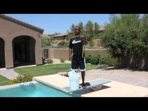 JJ Birden Former NFL Wide Receiver Accepts the ALS Ice Bucket Challenge from Rod Green