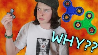 Gyroscopic Precession Explained Using Fidget Spinners!
