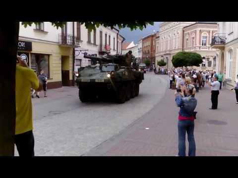 Amerykańskie wojsko w Tarnowie, przejazd Wałową