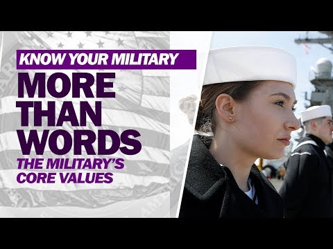 Military Core Values